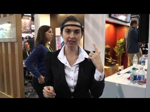 #CES2015  Train Your Brain With Muse: The Brain Sensing Headband