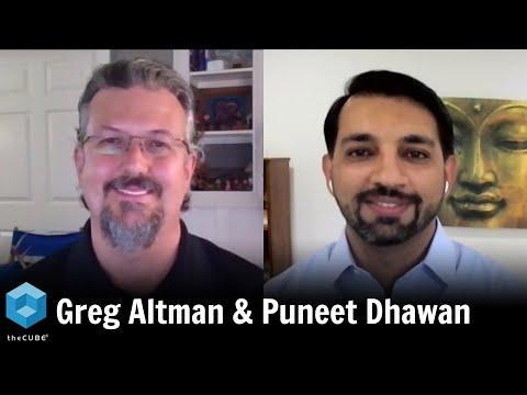 Greg Altman, Swiff-Train Company & Puneet Dhawan, Dell EMC   Dell Technologies World 2020