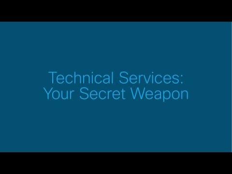 ST Highlights: Technical Services: Your Secret Weapon