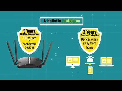 D-Link, EXO Smart Mesh Router - Essential To Keep Your Data Safe Online