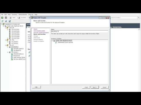 How To Install The Avaya Aura® Session Manager Virtual Appliance