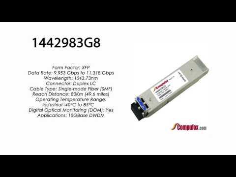1442983G8 | Adtran Compatible 11.3G DWDM XFP 1543.73nm 80km LC
