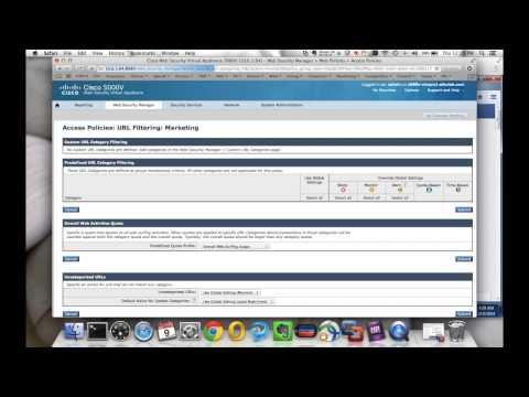 Time And Volume Quotas On The Cisco Web Security Appliance (WSA)