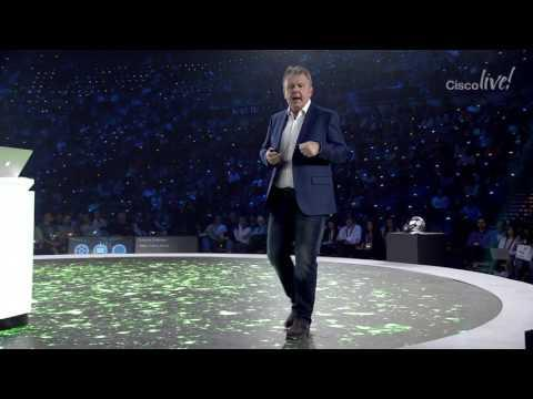 Cisco Live 2017: Technology Vision Keynote - Rowan Trollope, David Goeckeler, Chris Dedicoat