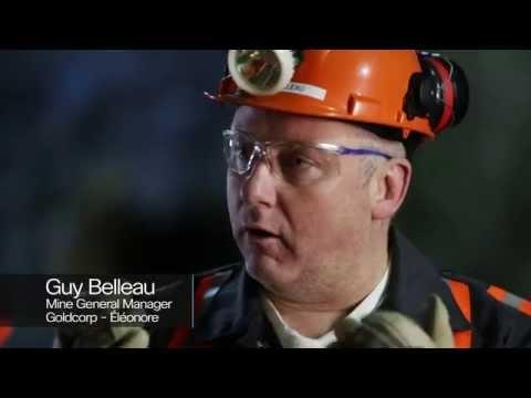 Goldcorp's Éléonore   Smarter And Safer Mining