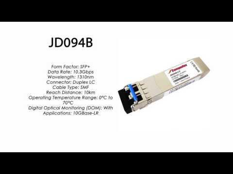 JD094B     HP Compatible 10GBase-LR SFP+ 1310nm 10km