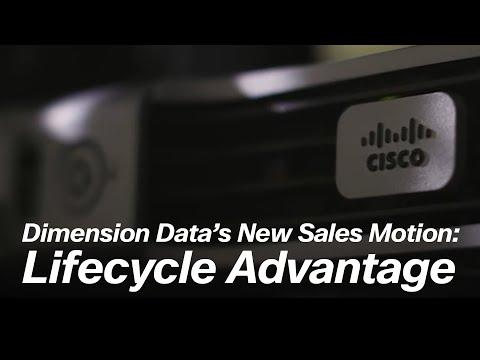 Dimension Data's New Sales Motion: Lifecycle Advantage