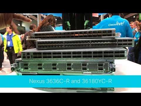 Cisco Live Barcelona: New Deep Buffer Data Center Switches