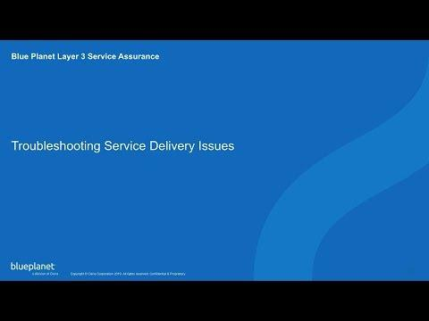 Demo: Blue Planet Layer 3 Service Assurance