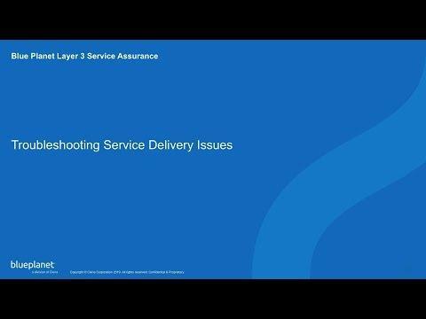 Demo: Blue Planet Layer 3 Service Assurance