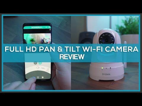 D-Link Full HD Pan & Tilt Wi-Fi Camera (DCS-8525LH) - Review