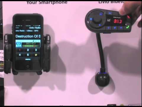 Telematics Detroit 2011: Livio Radio Demos New Plug-in Product