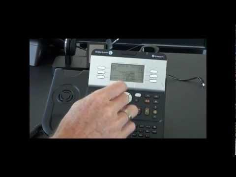 DEMO Video Alcatel-Lucent Digital Phone 4029 On The Enterprise Solution