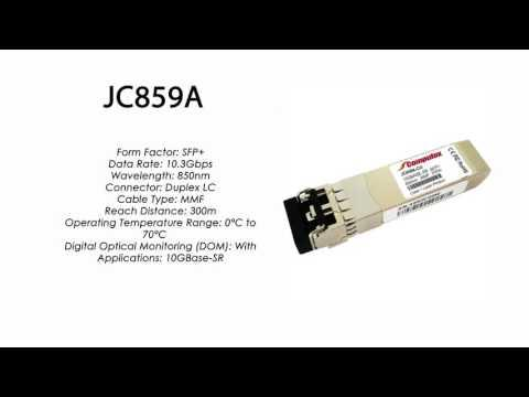 JC859A  |  HP Compatible 10GBase-SR 850nm 300m SFP+