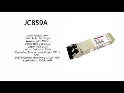 JC859A     HP Compatible 10GBase-SR 850nm 300m SFP+