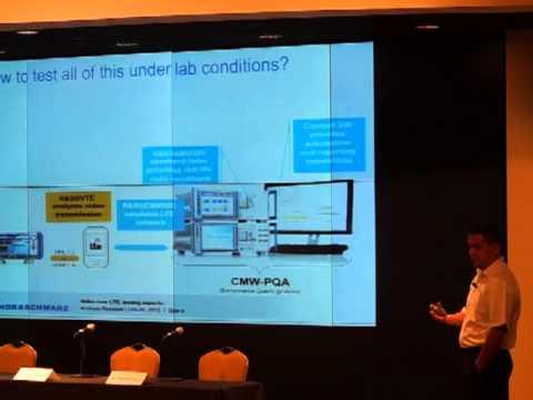 2012 TWS: Video Over LTE Testing Video Powerpoint Presentation