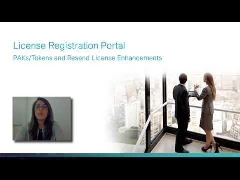 EoDB3: License Registration Portal Enhancements: PAKs/Tokens And Resend License