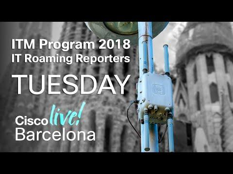 ITM Program Cisco Live Barcelona 2018 - Tuesday