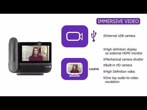 360° Overview Of Alcatel-Lucent 8088 Smart DeskPhone For Business Conversations