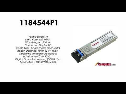 1184544P1  |  Adtran Compatible OC-12 1310nm 40km SFP