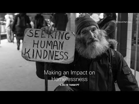 #CiscoChat Live - Making An Impact On Homelessness