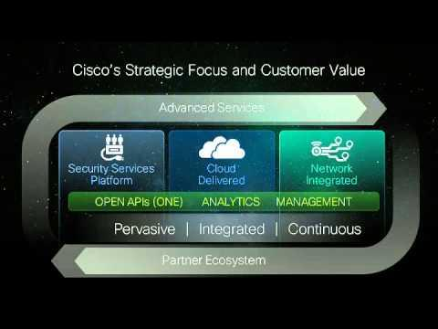 Security Keynote At Cisco Live Orlando 2013