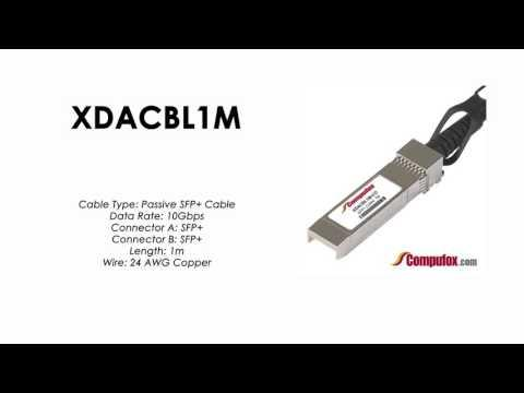 XDACBL1M  |  Intel Compatible SFP+ Passive DAC Cable 1m