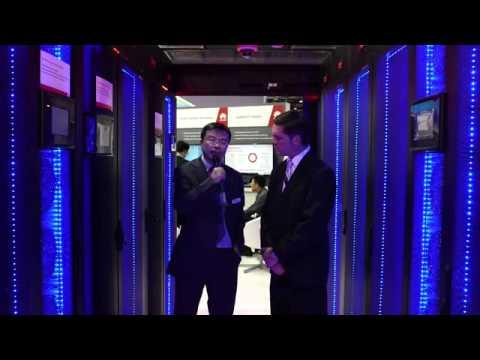 GITEX 2013:Huawei Modular Data Center