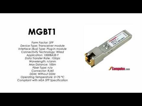 MGBT1  |  Linksys/Cisco Compatible 1000Base-T RJ45 100m SFP