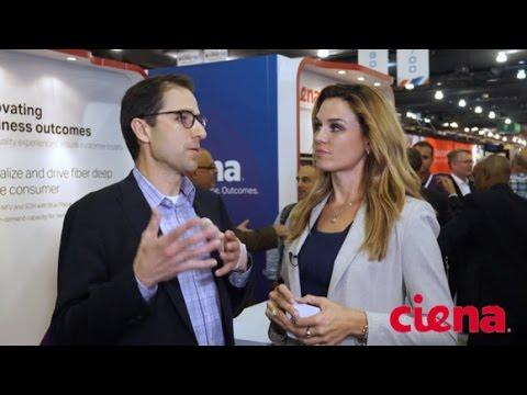 Ciena's Elias Cagiannos Talks BTR At The SCTE Cable-Tec Expo