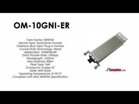 OM-10GNI-ER  |  Alcatel Compatible 10GBASE-ER 1550nm 40km XENPAK