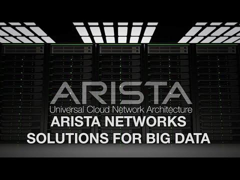 Arista Networks Solutions For Big Data