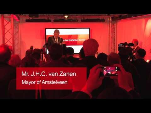 2013 Official Opening Of Huawei Enterprise Amstelveen Office And Exhibition Centre