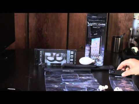 Hands On Review Of DryCase SmartPhone And Tablet Waterproof Cases