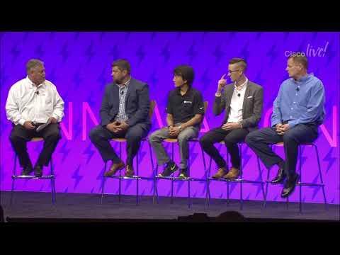 Cisco Live 2018: Customer Panel: Delivering Return On Investment With VersaStack(TM)