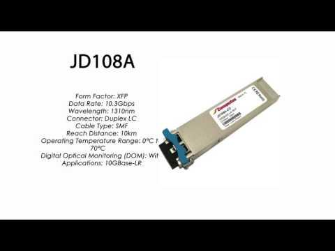 JD108A  |  HP Compatible 10GBase-LR XFP 1310nm 10km