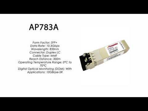 AP783A  |  HP Compatible 10GBase-SR SFP+ 850nm 300m