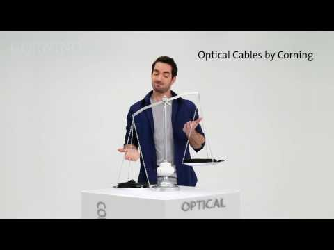 Thunderbolt™ Optical Cables By Corning - Cables Just Got Lighter.