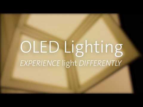 OLED Lighting – Beautiful, Better Light