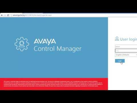 How To Configure And Handle Licenses With Avaya Control Manager License Tracker Service