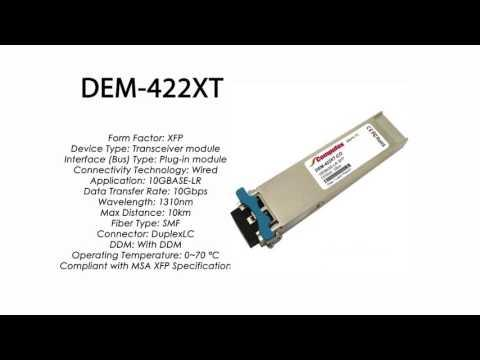 DEM-422XT  |  D-Link Compatible 10GBase-LR XFP 1310nm 10km
