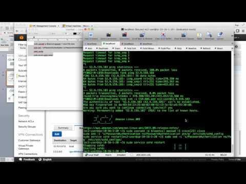 CSR1000V Site To Site VPN On AWS/Azure