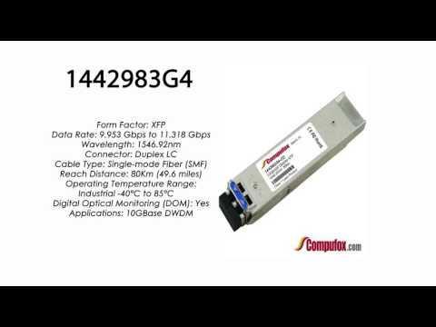 1442983G4   Adtran Compatible 11.3G DWDM XFP 1546.92nm 80km