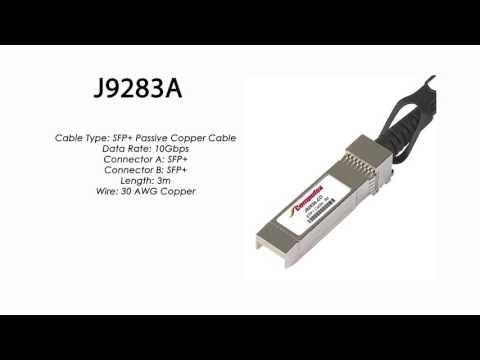 J9283A  |  HP Compatible SFP+ Passive Copper Cable 3m