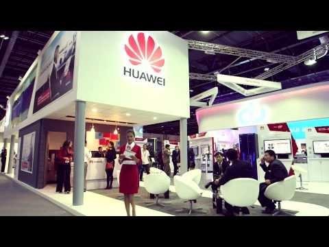 GITEX 2013, Dubai - Huawei Highlights Of Day 1