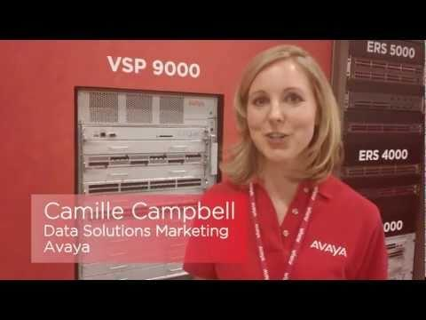 Avaya Virtual Services Platform 9000 (VSP 9000) - Interop 2011