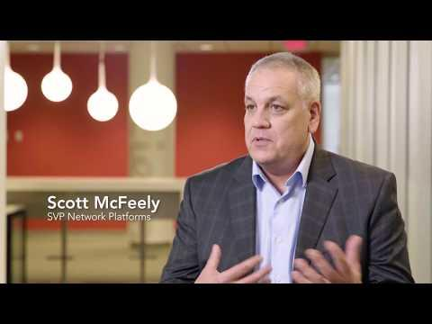 Scott McFeely, Senior Vice President, Networking Platforms