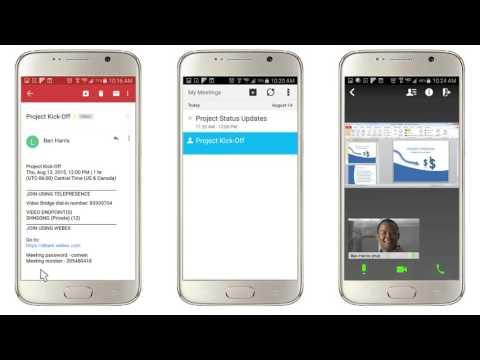 WebEx Meeting Center: Join A CMR Hybrid Meeting (WebEx Enabled TelePresence)  (WBS30)