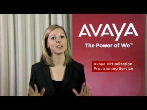 Avaya Virtualization Provisioning Service