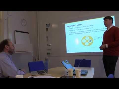 Anders Broberg Of Stokab Explains Business Model